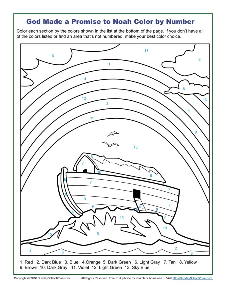 Angel Visits Joseph Coloring Page Coloring Color Number Bible Coloringes On Sunday School Zone