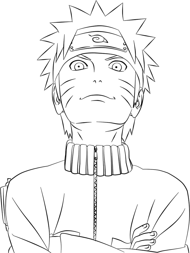 Anime Naruto Coloring Pages Anime Naruto Coloring Pages Coloringsuite