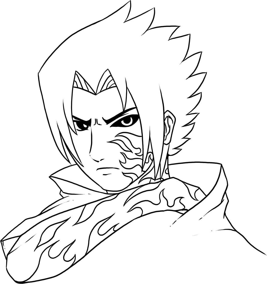 Anime Naruto Coloring Pages Free Printable Naruto Coloring Pages For Kids
