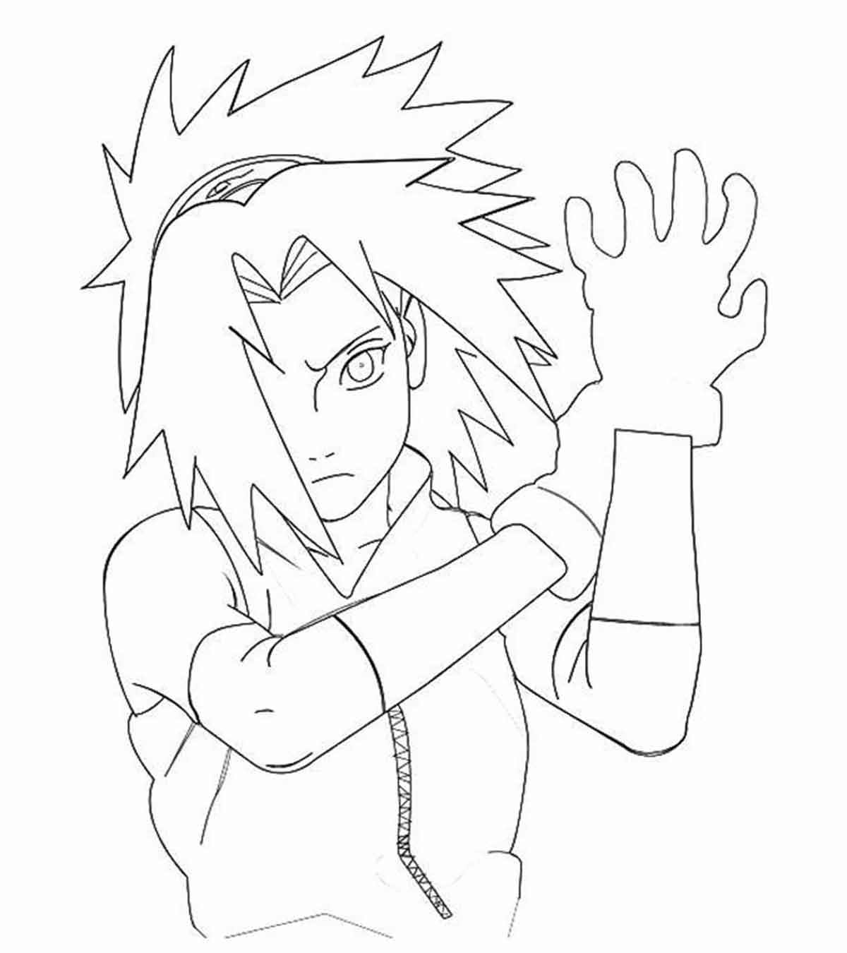 Anime Naruto Coloring Pages Top 25 Free Printable Naruto Coloring Pages Online