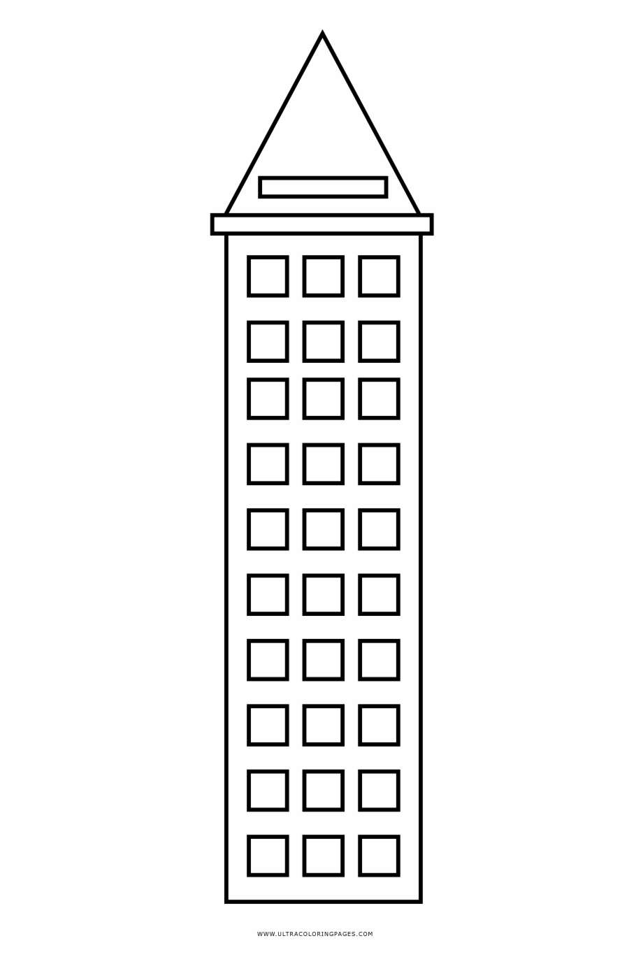 Building Coloring Page New York City Building Coloring Page Building Free Png Images