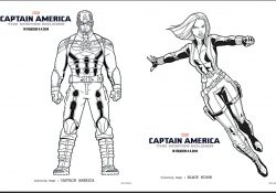 Captain America Winter Soldier Coloring Pages 15 Free Captain America Coloring Pages