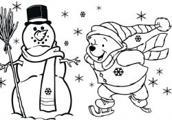 Children's Christmas Coloring Pages Free Coloring Pages Childrens Christmas Coloring Pages Free Printable