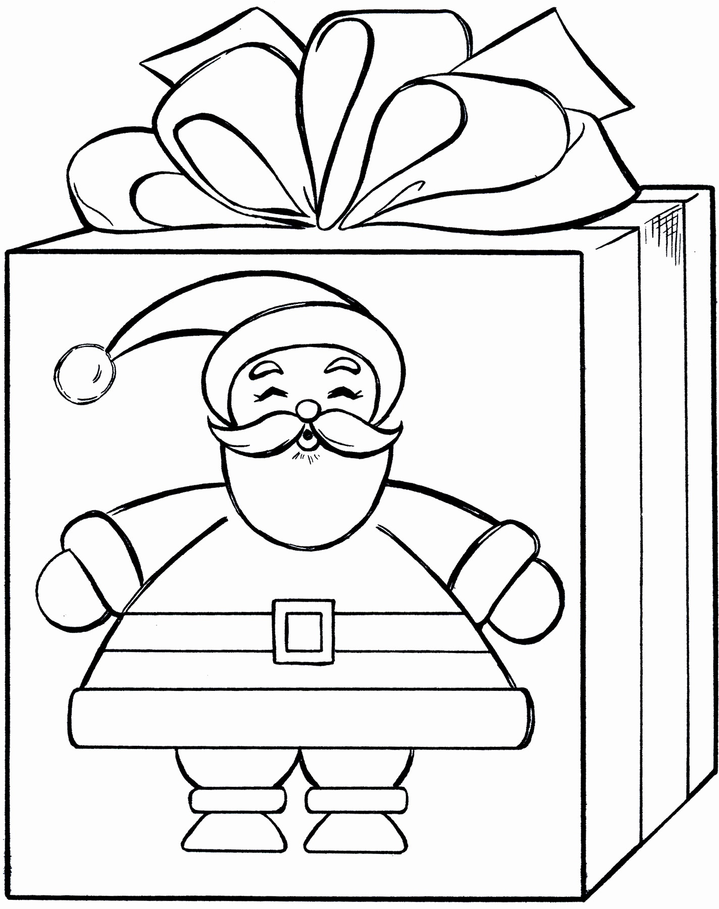 Christmas Elf Coloring Pages Christmas Elf Coloring Pages Awesome Present Page 3 7478 Of Within