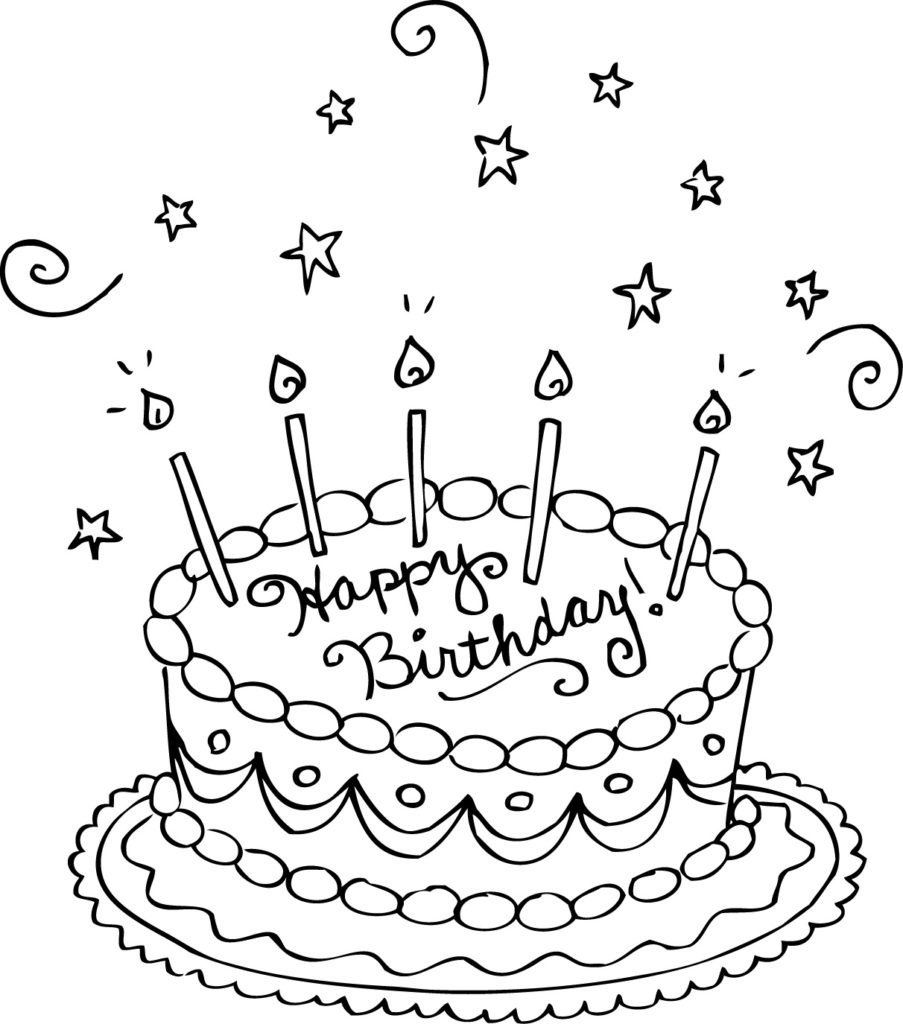 Coloring Pages For Birthday Happy Birthday Coloring Pages Coloringrocks