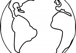 Coloring Pages Of The World Globe Coloring Page Free Download Best Globe Coloring Page On