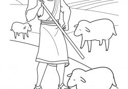 Coloring Pages Sheep And The Shepherd Coloring Ideas Bible Coloring Pages For Kids The Parable Of Lost