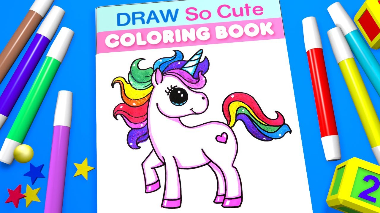Cute Unicorn Coloring Pages Unicorn Coloring Pages For Kids Learn Color