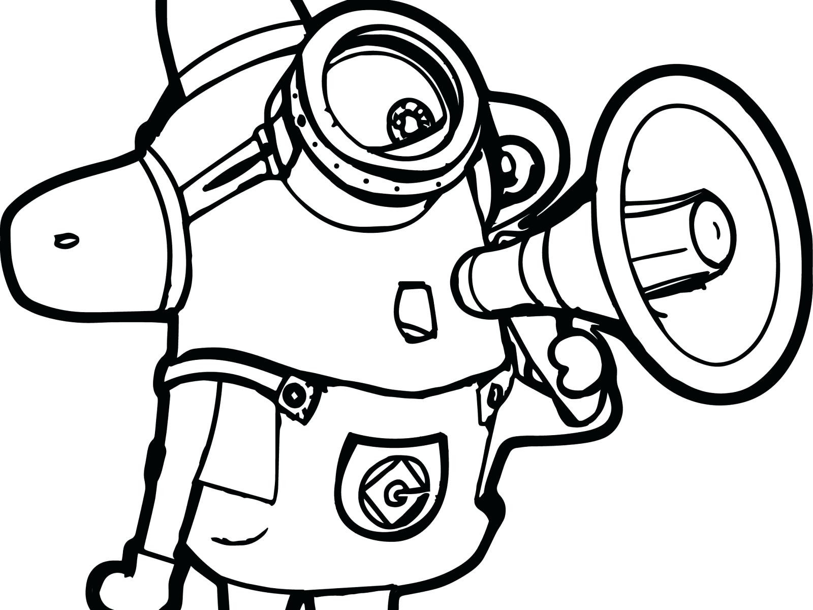 Despicable Coloring Pages Free Printable Minion Coloring Pages Bob Despicable Me Minions Page