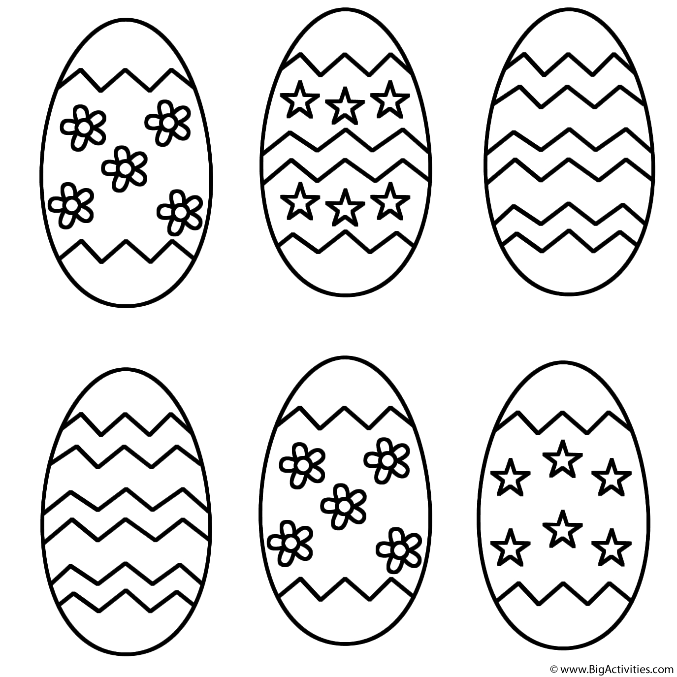 Easter Egg Coloring Page Coloring Coloring Easter Egg Pictures To Colour Russian Eggs Pages