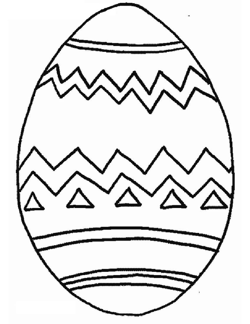 Easter Egg Coloring Page Free Printable Easter Egg Coloring Pages For Kids