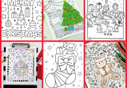Free Christmas Printable Coloring Pages Free Christmas Coloring Pages For Adults And Kids Happiness Is