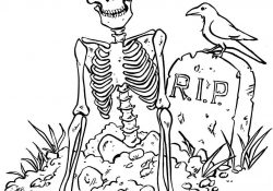 Free Scary Halloween Coloring Pages Scary Halloween S For Kidsd06e Coloring Pages Printable