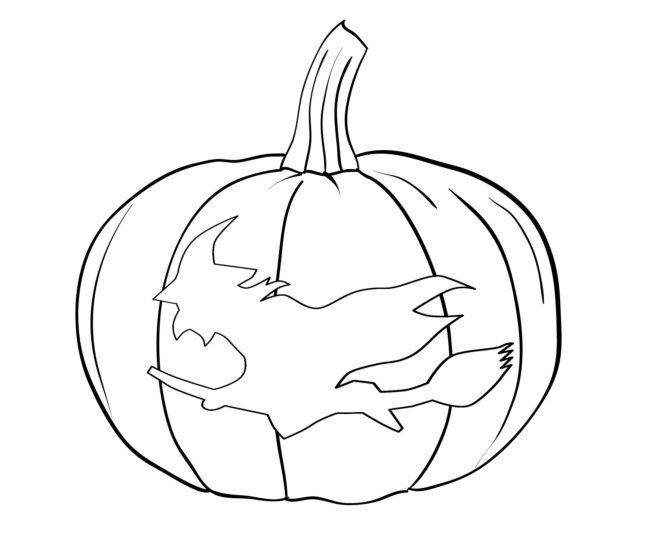 Halloween Pumpkin Coloring Pages Printables Coloring Pages Free Halloween Pumpkin Coloring Pages For Toddlers