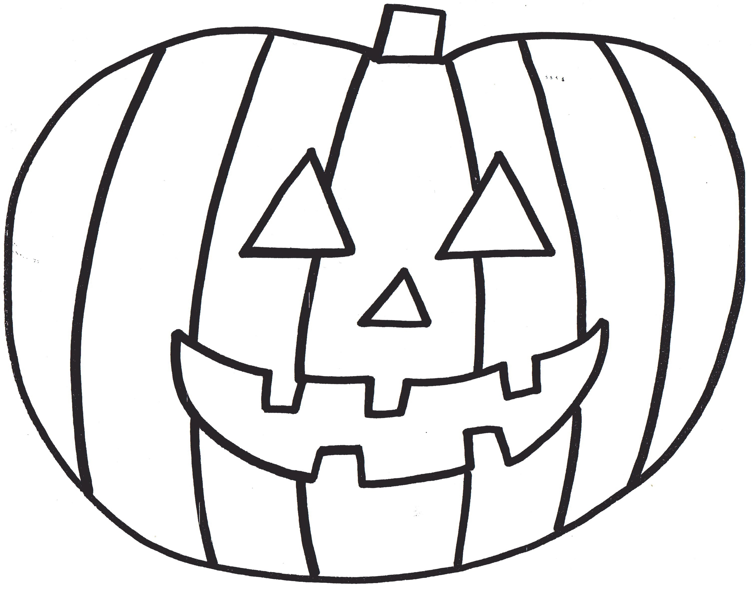 Halloween Pumpkin Coloring Pages Printables Coloring Pages Free Pumpkin Coloring Preschoolers At Printable