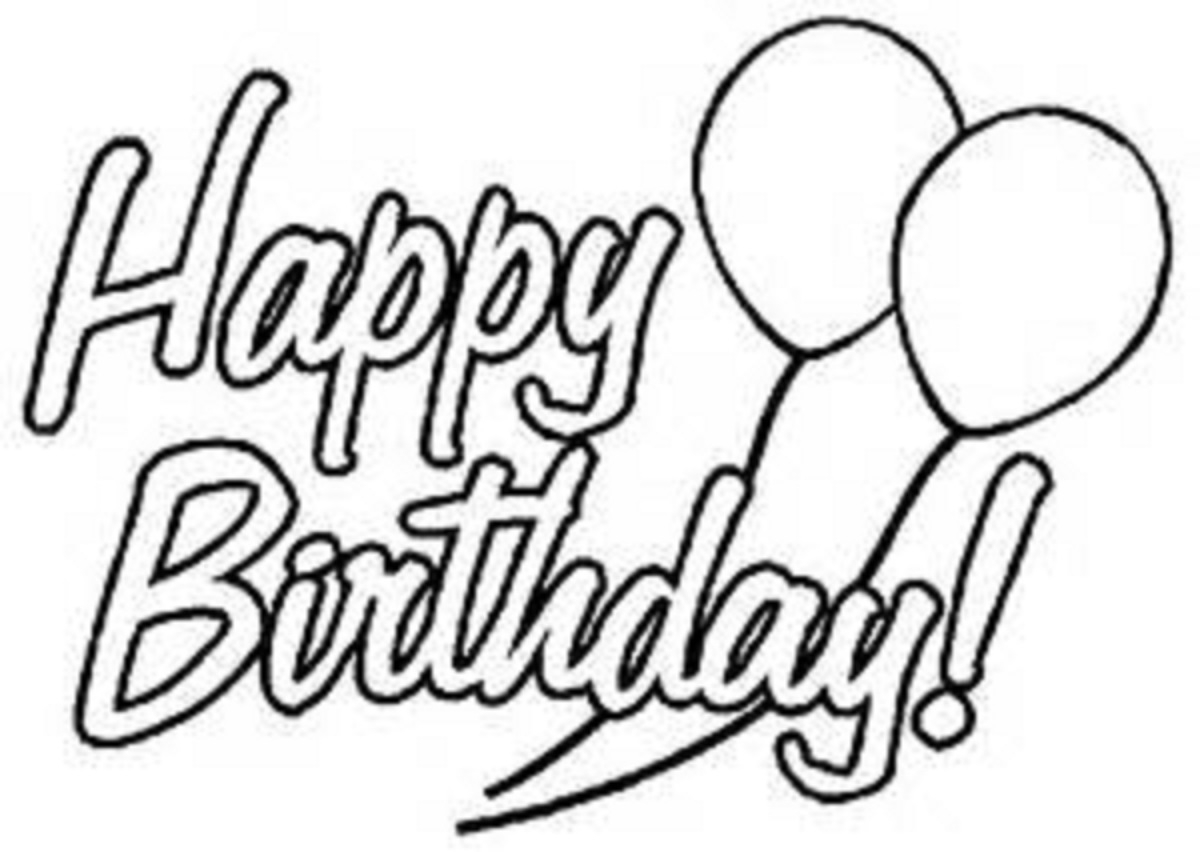 Happy Birthday Coloring Pages For Friends Birthday Coloring Pages Free Download Best Birthday Coloring Pages
