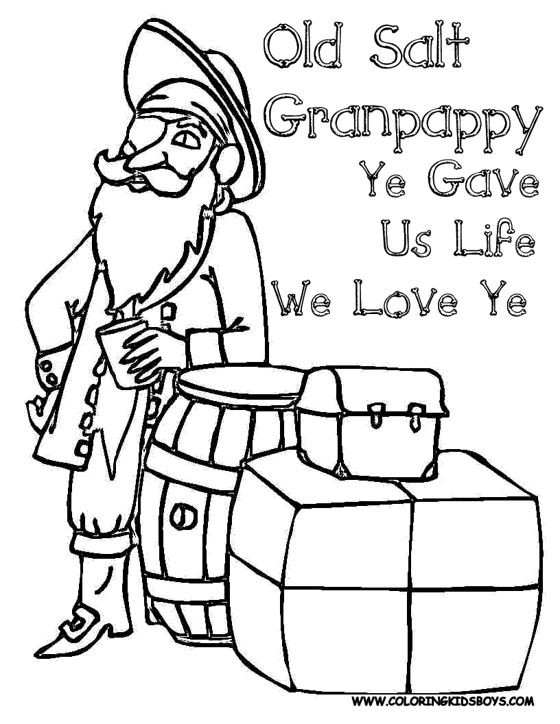 Happy Birthday Coloring Pages For Friends Free Fathers Day Coloring Pages For Grandpa Printable Printable