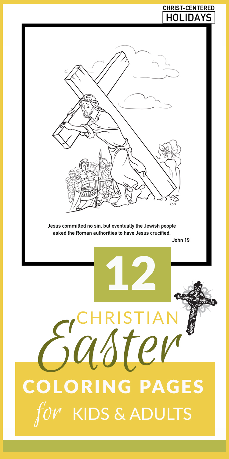 Jesus Easter Coloring Pages Printable Christian Easter Coloring Pages Printables For Kids Adults