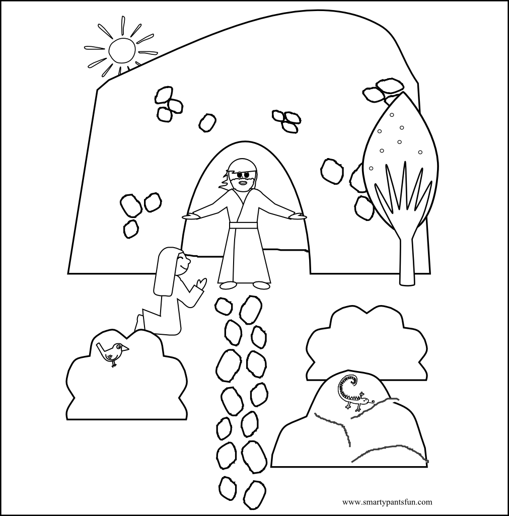 Jesus Easter Coloring Pages Printable Jesus Resurrection Coloring Page At Getdrawings Free For