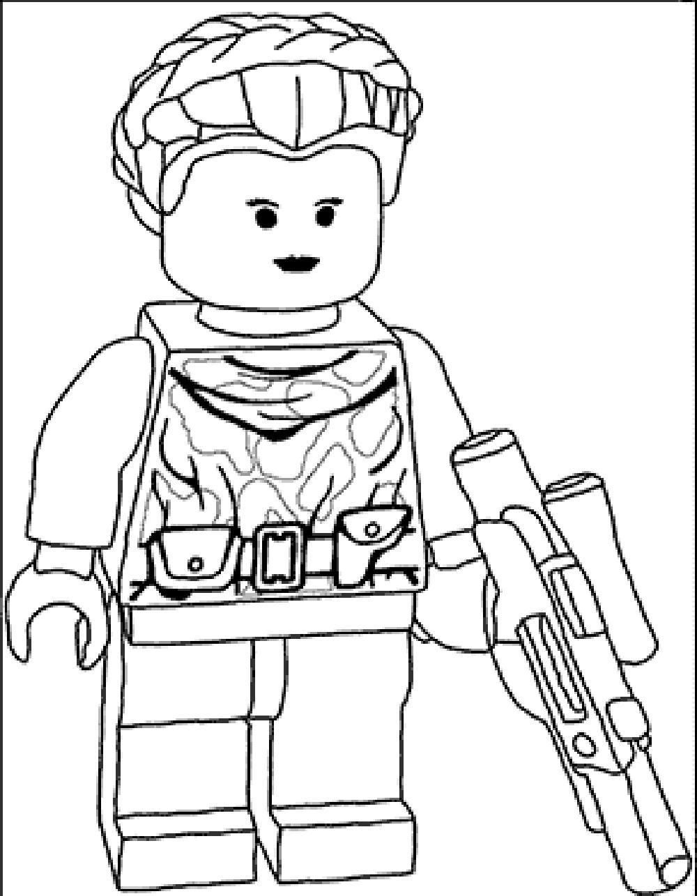 Lego Coloring Pages Star Wars Inspirational Han Solo Lego Coloring Pages Dazhou