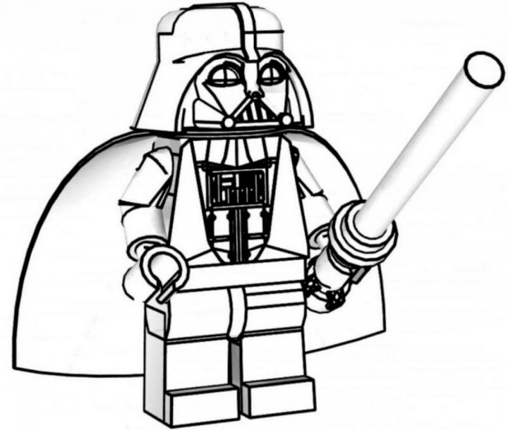 Lego Coloring Pages Star Wars Lego Darth Vader Coloring Pages With Coloring Pages Star Wars Darth