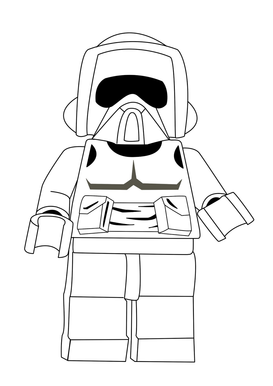 Lego Coloring Pages Star Wars Lego Star Wars Coloring Pages Best Coloring Pages For Kids