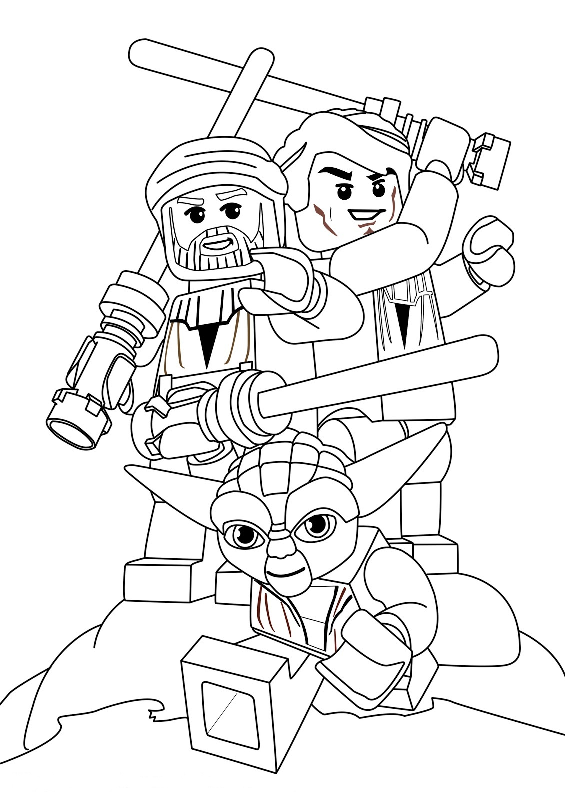Lego Coloring Pages Star Wars Star Wars Coloring Pages Free Printable Star Wars Coloring Pages