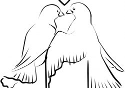 Love Bird Coloring Pages Love Birds Coloring Page Free Printable Coloring Pages