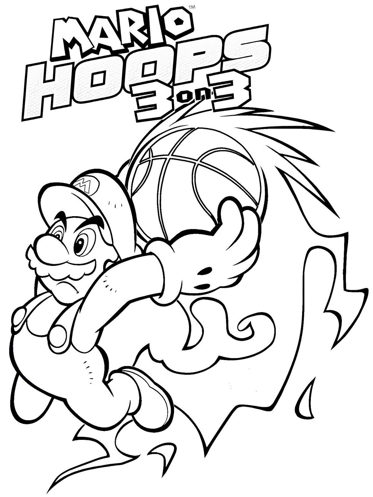 Mario Coloring Pages To Print Coloring Book Ideas Free Marioloring Pictures To Print For Kids