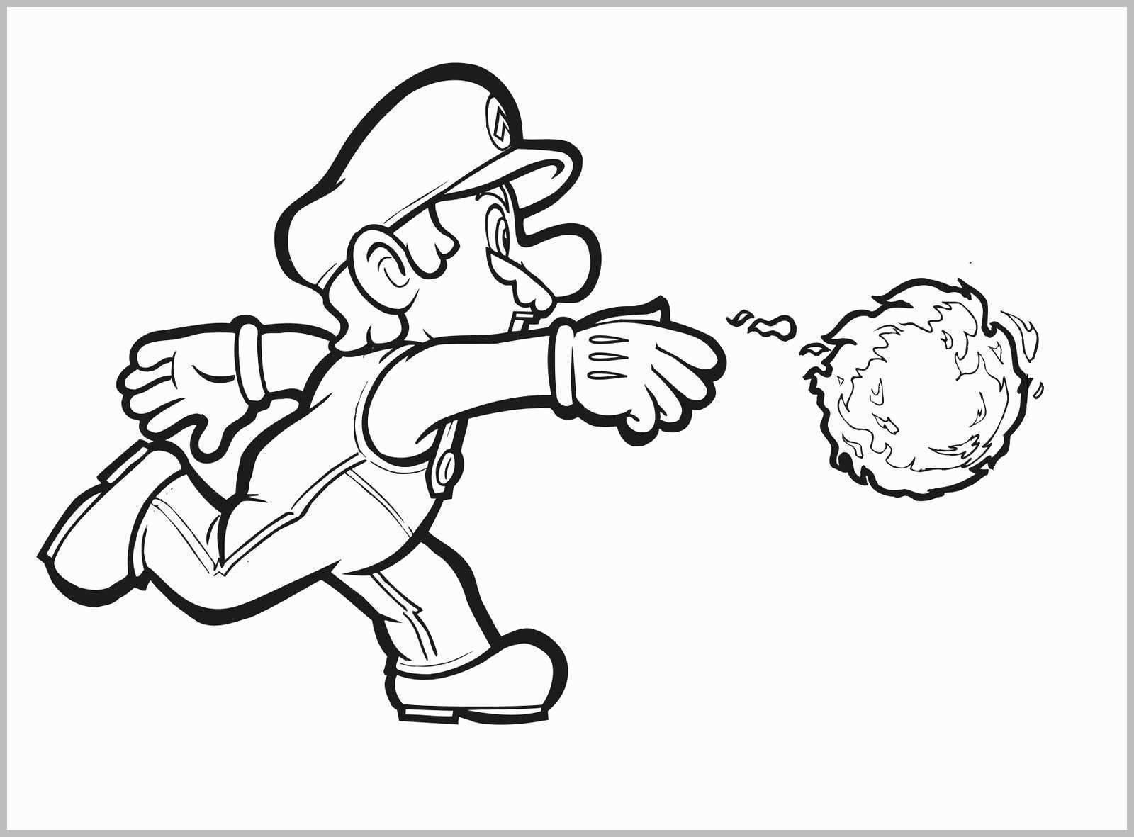 Mario Coloring Pages To Print Coloring Pages For Kids Printable Super Mario With Super Mario