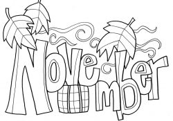 November Color Pages November Coloring Pages New Color Number Cornucopia Msainfo