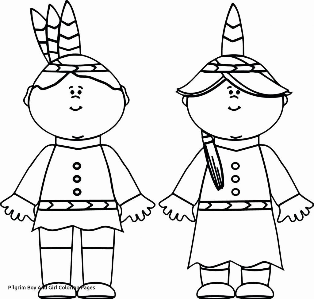 Pilgrim Coloring Pages Pilgrim Girl Coloring Page New Native American Coloring Pages Free