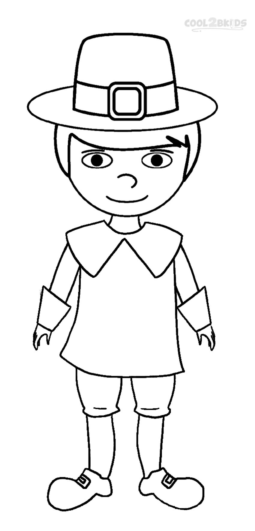Pilgrim Coloring Pages Printable Pilgrims Coloring Pages For Kids Cool2bkids
