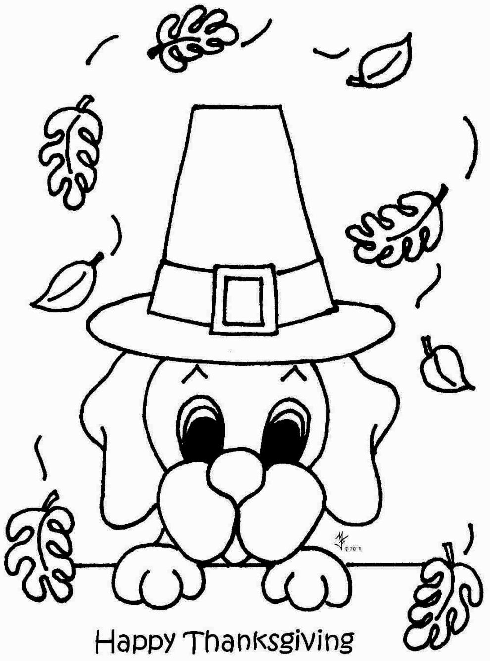 Pilgrim Coloring Pages Turkey With Pilgrim Hat Coloring Pages