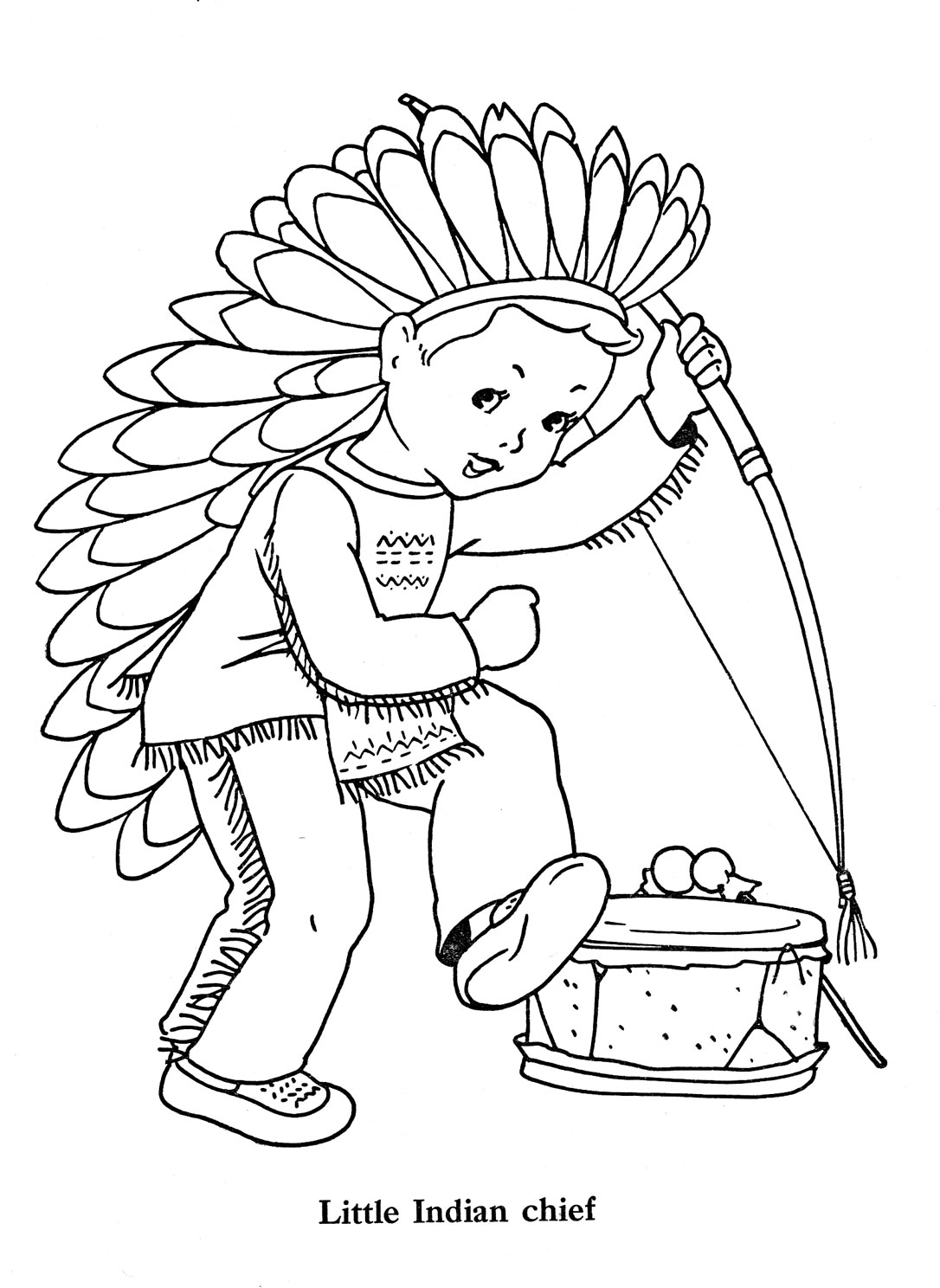Pilgrim Indian Coloring Pages Indian Coloring Pages Best Coloring Pages For Kids