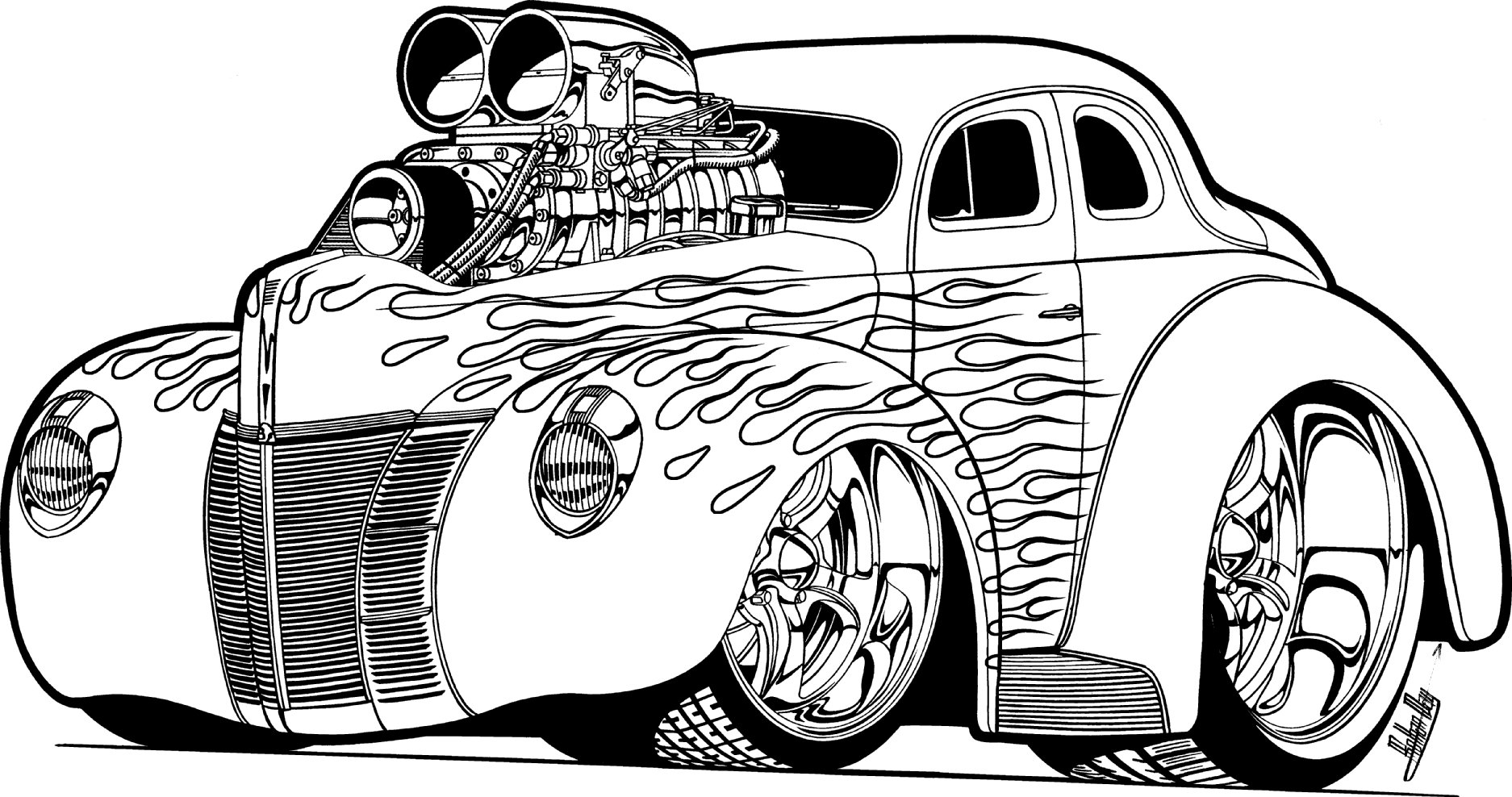 Printable Coloring Pages Cars Free Printable Coloring Pages Cars