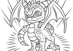 Printable Skylanders Coloring Pages Skylanders Spyro Coloring Page Free Printable Coloring Pages