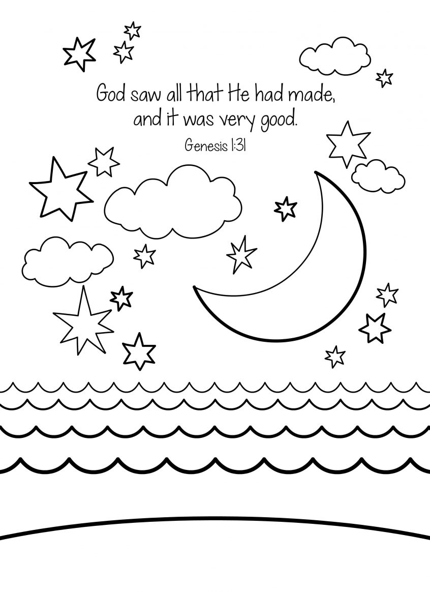 Religious Coloring Pages For Kids Coloring Christian Coloring Pages For Preschoolers Bible Kids