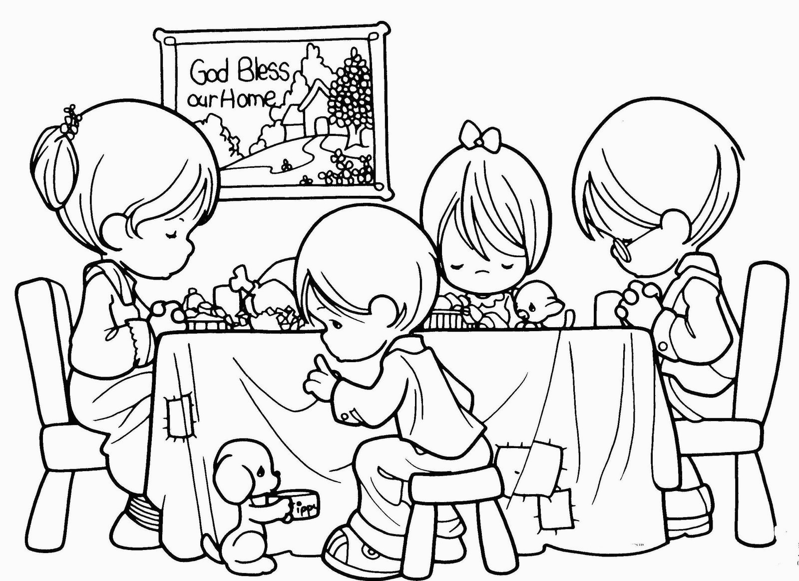 Religious Coloring Pages For Kids Coloring Pages Freerintable Christian Coloringages For Kids Best