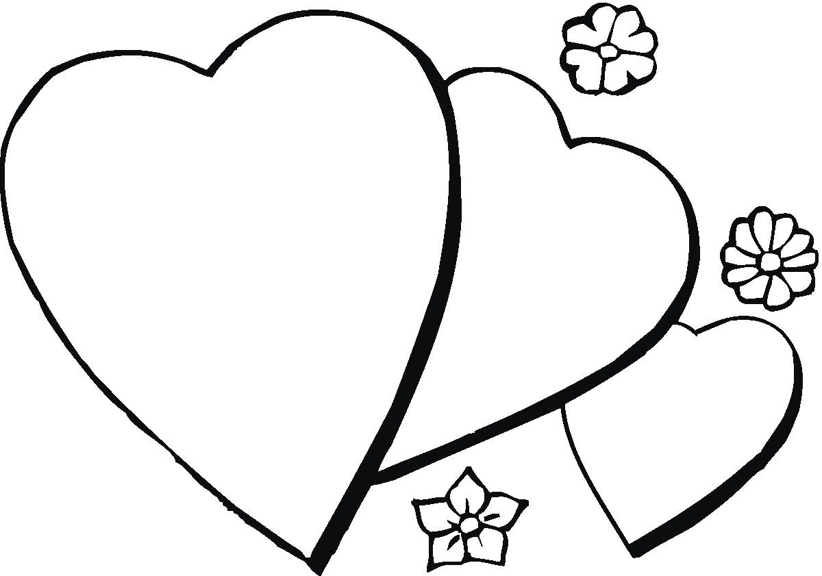 Roses And Hearts Coloring Pages Roses Hearts Coloring Pages With Popular Roses And Hearts Coloring