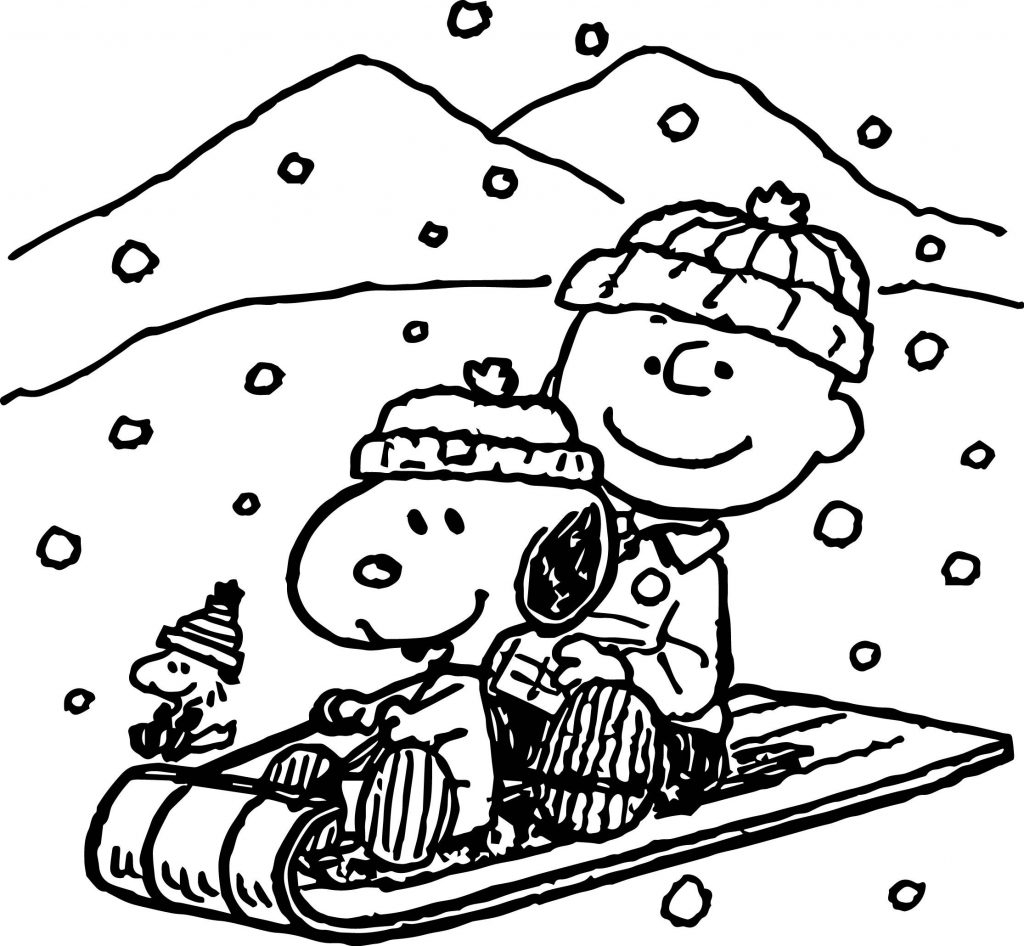 Snoopy And Woodstock Coloring Pages Coloring Page Incredible Snoopy Coloring Pages Image Ideas