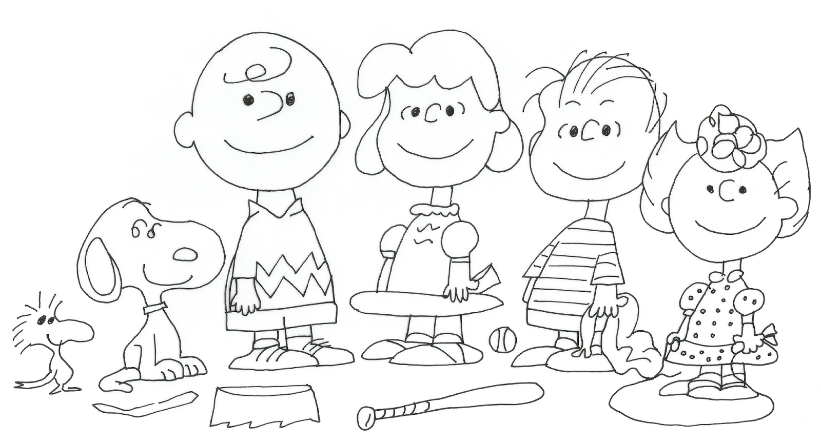 Snoopy And Woodstock Coloring Pages Free Charlie Brown Snoopy And Peanuts Coloring Pages Baseball Game