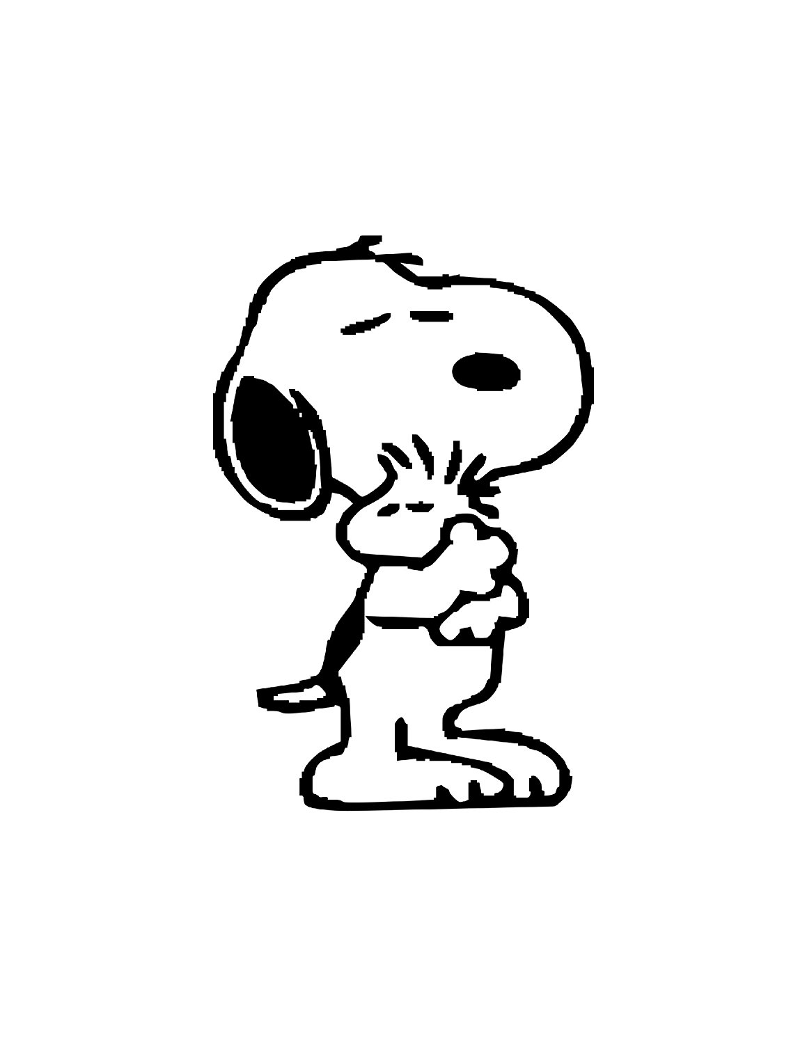 Snoopy And Woodstock Coloring Pages Woodstock Snoopy Coloring Pages