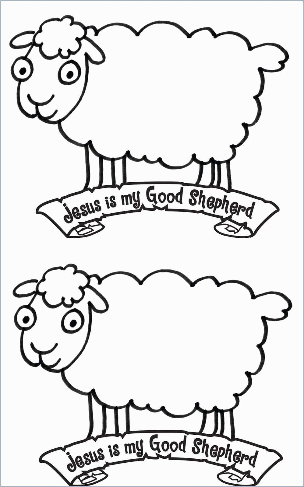 The Good Shepherd Coloring Page Good Shepherd Drawing At Paintingvalley Explore Collection Of