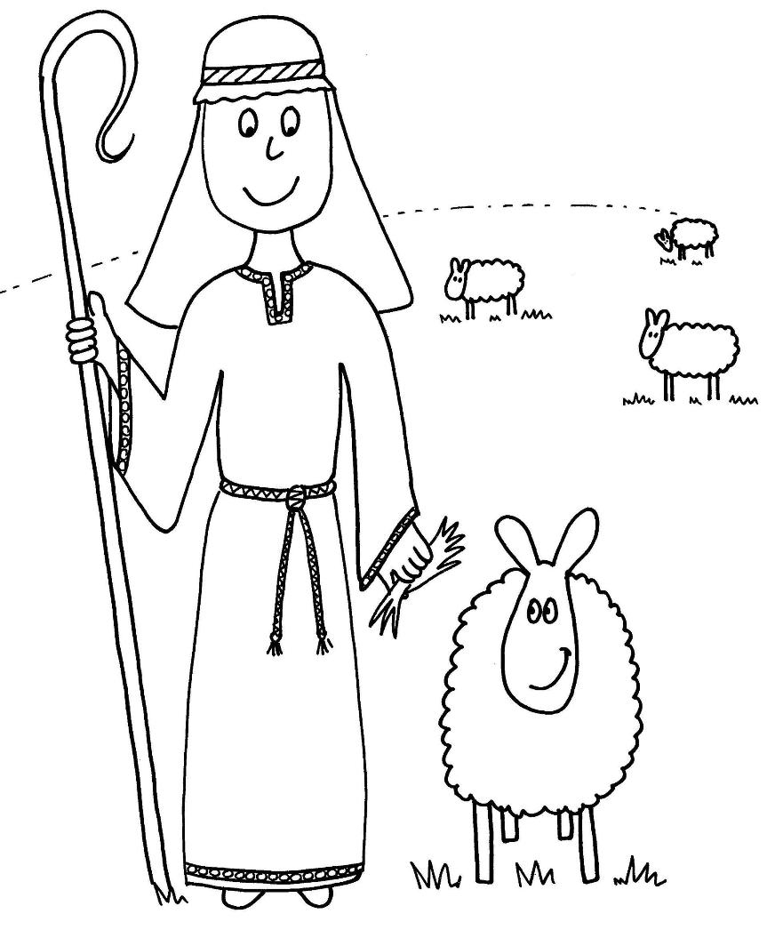 The Good Shepherd Coloring Page Parable Of The Good Shepherd The Good Shepherd Good Shepherd