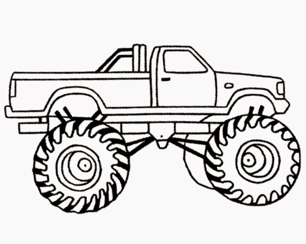 Adult Coloring Pages Trucks Coloring Books Monster Truck Coloring Pages Coloring Pages For