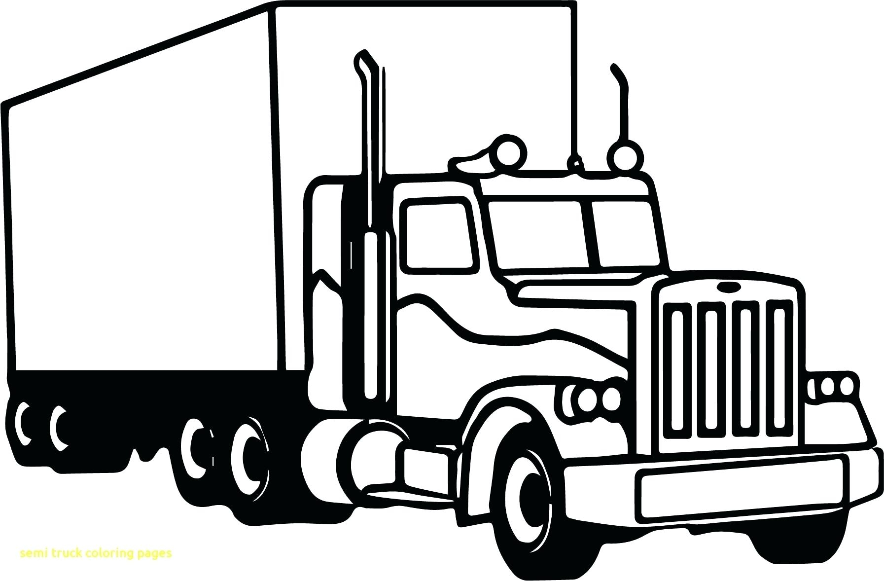 Adult Coloring Pages Trucks Dump Truck Coloring Pages Inspirational Semi Free Download Of