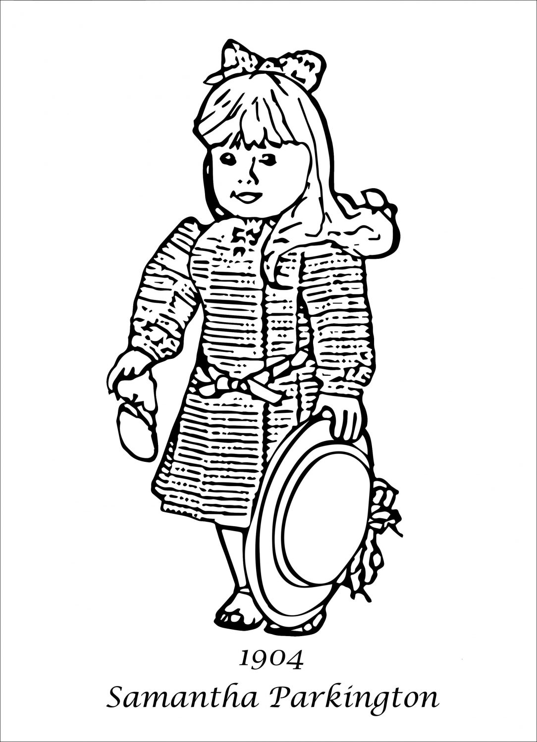 American Girl Coloring Pages Lea Coloring American Girl Coloring Page Pages Best For Kids Picture