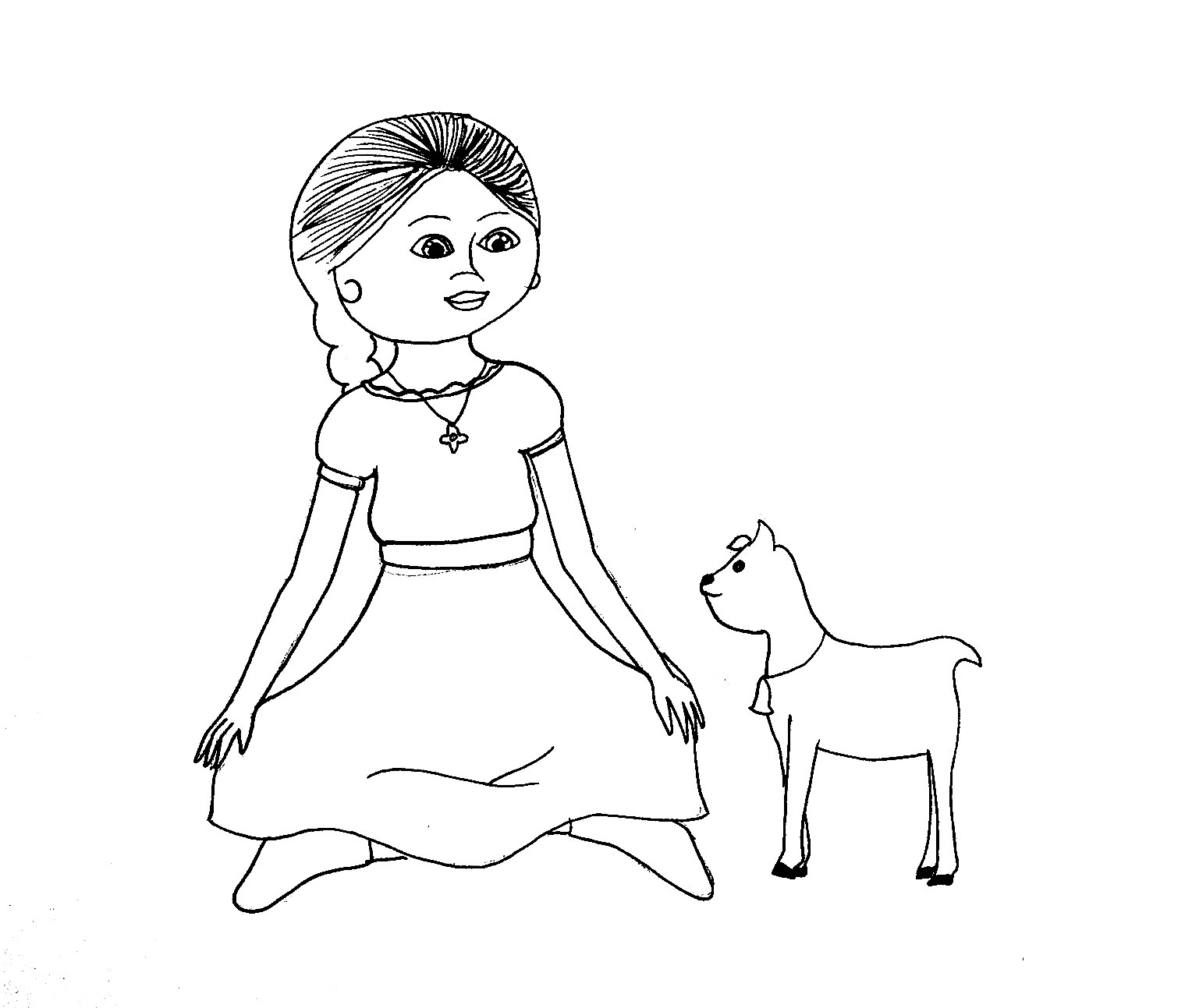 American Girl Coloring Pages Lea Coloring Book American Girl Coloring Pages Splendi Doll Book At