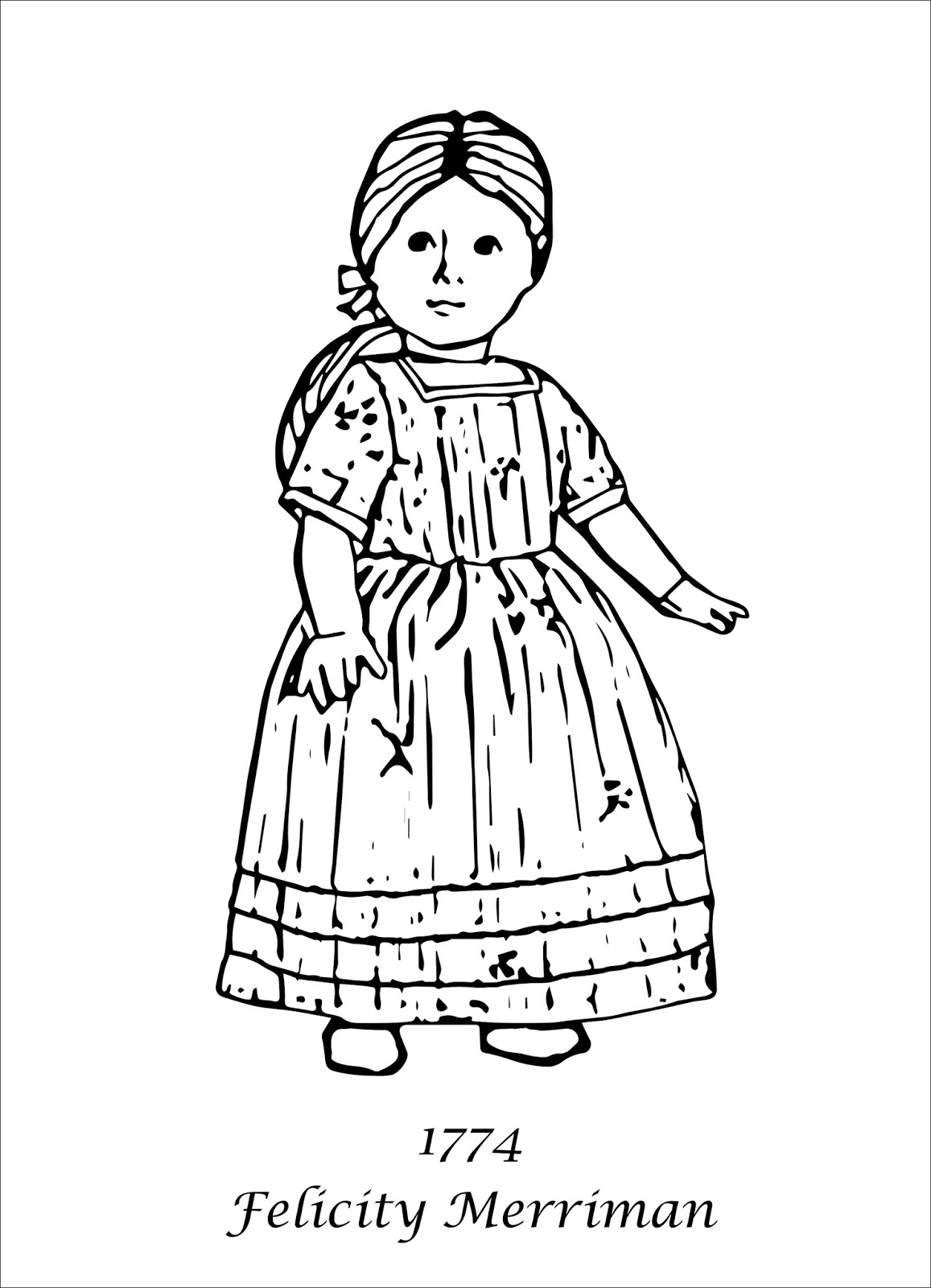 American Girl Coloring Pages Lea Coloring Book Splendi American Girl Doll Coloringages My Cup